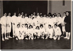 Fechtlehrgang März 1963 Leutkirch